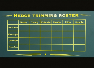 HEDGE ROSTER