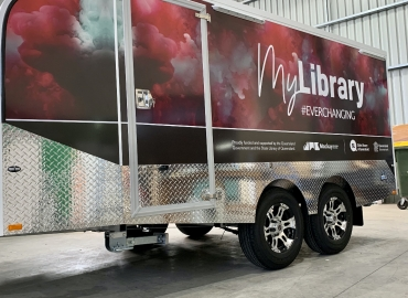 LIBRARY TRAILER